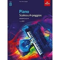 Piano Scales & Arpeggios, ABRSM Grade 8: from 2021