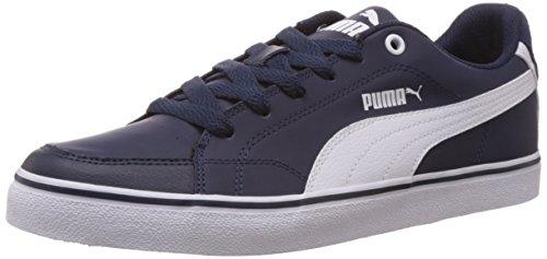 Puma Court Point Vulc - zapatilla deportiva de material sintético hombre azul - Blau (peacoat-white 01)