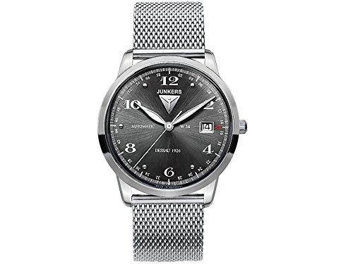 Junkers - Reloj de Pulsera analógico automático para Hombre Acero Inoxidable 6350 M2: Amazon.es: Relojes