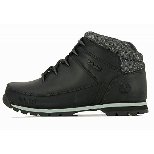 Timberland Mens Euro Sprint Hiker Walking Black Hiking Ankle Boots - Black - 9.5