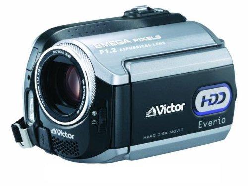 JVCケンウッド ビクター Everio エブリオ ビデオカメラ ハードディスクムービー 40GB GZ-MG275-B