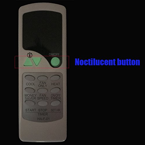 HA-F-01 Replacement for Friedrich Air Conditioner Remote Control for XQ05L10-B XQ06J10 XQ06J10-3 XQ06J10-A XQ06J10A-A XQ06J10A-B XQ06J10-B XQ06L10A-B XQ06L10A-C XQ06L10-B XQ07J10 XQ07J10-1 XQ08J10 by YING RAY (Image #2)