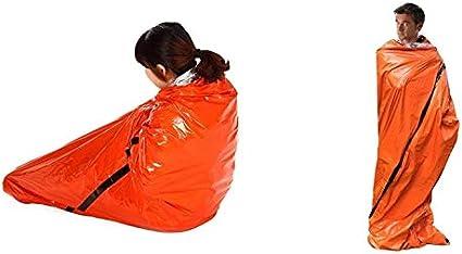 Emergency Sleeping Bag Bivvy Bag Survival Bivi Thermal Insulation Reusable UK