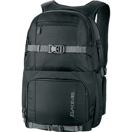 DAKINE Quest Backpack – 1710cu in Black, One Size, Outdoor Stuffs
