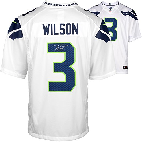 Russell Wilson Seattle Seahawks Autographed Nike Limited White Jersey - Fanatics Authentic Certified ()