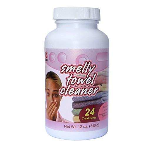 Smelly Washer All-Natural Smelly Towel and Laundry Cleaner, Light Garden Scent, 24 Treatments