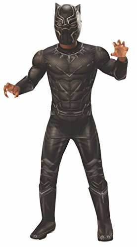 Rubie's Costume Captain America: Civil War Deluxe Black Panther Costume, Small