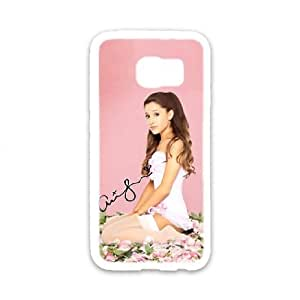 Ariana Grande DIY phone Case case For Samsung Galaxy S6 QWER80791