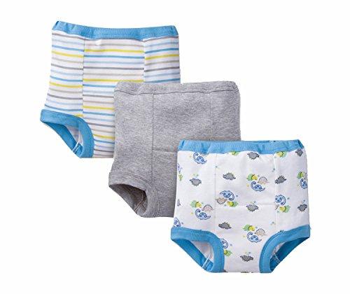 Gerber Baby Toddler Boy Training Pants, Dino, 3-Pack, 2T