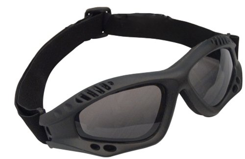 Rothco Black VenTec Tactical - Goggles Sunglasses Or
