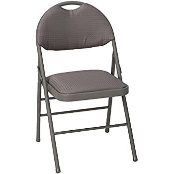 Amazon Com Cosco Fabric Folding Chair Black 4 Pack