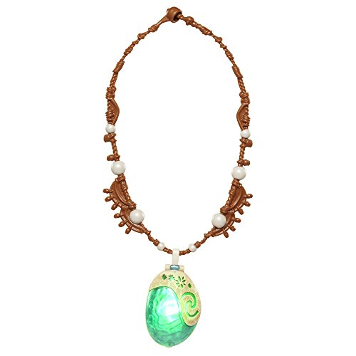 Disney Moanas Light Up Seashell Necklace