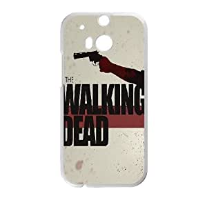 HTC One M8 Cell Phone Case White The Walking Dead SLI_572976