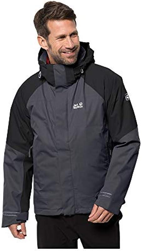 Jack Wolfskin Steting Peak kurtka męska (1 szt.), szary, l: Odzież