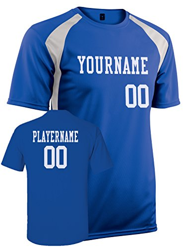 Dazzle Football Jersey Color (Youth Custom Jersey, Personalize with YOUR Names, Numbers and Colors)