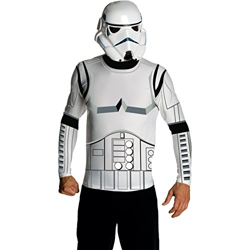Star Wars Adult Stormtrooper Costume Kit, White, Medium (Japanese Anime Costumes For Sale)