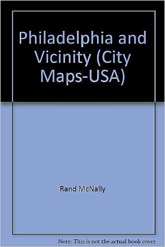Philadelphia And Vicinity City Map City MapsUSA Rand McNally - Philadelphia map in usa