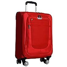 "Ricardo Eureka Wheelaboard Deluxe Superlight 21"" Luggage Spinner Carry On (Red)"