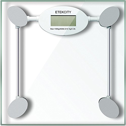 Etekcity Digital Body Weight Scale with Step-on Technology, 400 Pounds (EB005)
