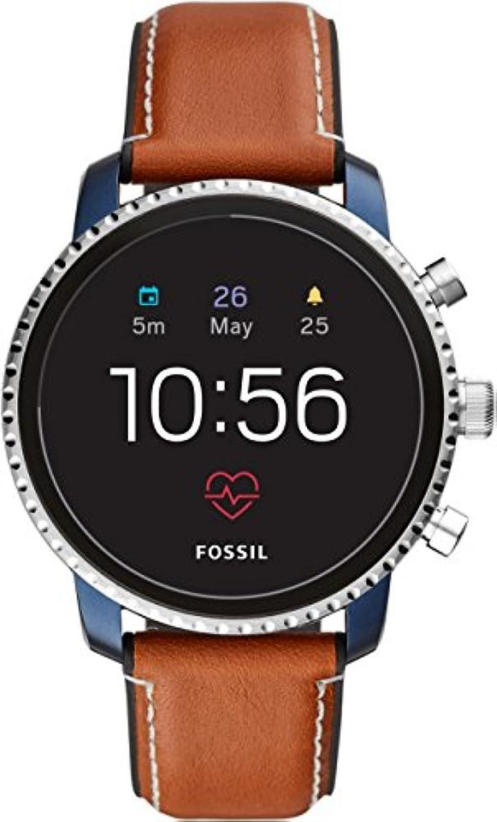 [해외] [파슬(Fossil)]FOSSIL 스마트 워치 Q EXPLORIST 터치 스크린 제너레이션4 FTW4016 손목시계 맨즈 【정규 수입품】