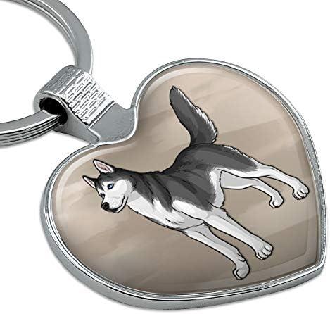 Saluki Dog Keyring Keychain Lanyard Bag Charm Gift