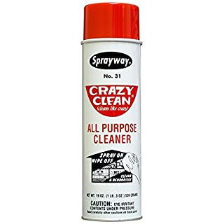 Sprayway SW031 Crazy Clean All Purpose Cleaner, 19 oz