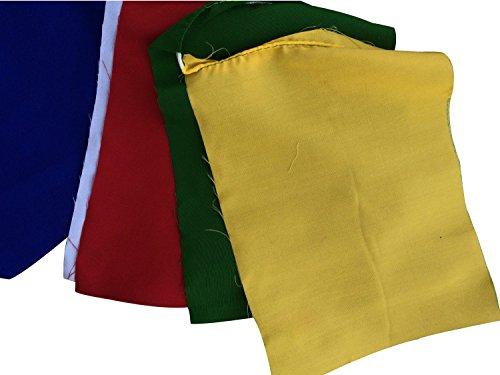 Blank-Prayer-Flags-Set-of-10-Flags-Pf01