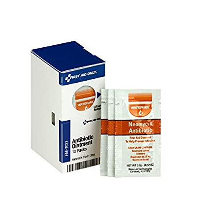 First Aid Only FAE-7021 SmartCompliance Refill Antibiotic Ointment (Pack of 10) from Pac-Kit Acme United