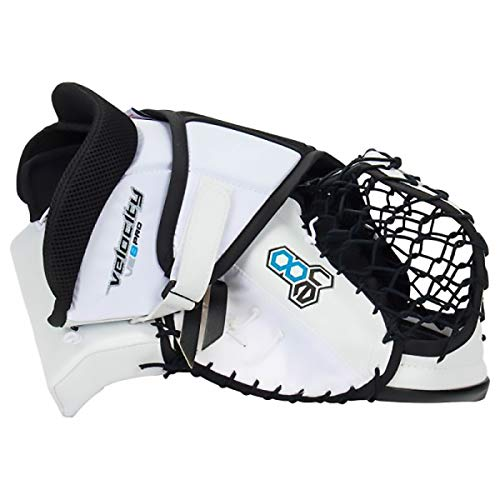 Vaughn VE8 Velocity Pro Goalie Catcher - Senior (White)