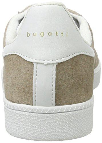 Bugatti Damen 422282017050 Sneaker Braun (Taupe/ White)