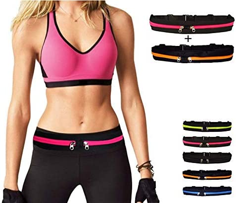 KAILAS Windbreak Running Waist Bag Slim Running Belt Premium Fanny Packs for Men Women Water Resistant Waist Bag for Outdoor Activities, Traveling, Hiking, Biking, Running