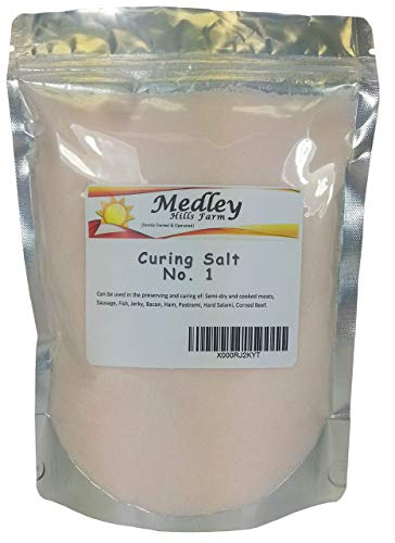 Curing Salt Jerky - Medley Hills Farm Prague Powder Curing Salt 1 lb - #1 Pink