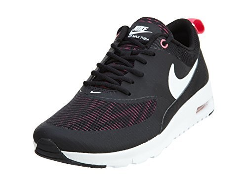 NIKE Girls Air Max Thea SE Running Shoes (4 M US Big Kid, Hyper Pink/Black/White) by NIKE