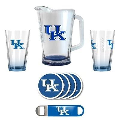NCAA Kentucky - Deluxe 2 Pint & Pitcher Set | UK Wildcats Bar Set