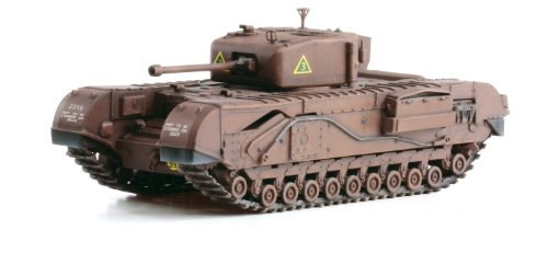 Dragon Models Churchill Mk. IV, A Squadron North Irish Horse Military Land Vehicle, Tunisia 1943, Scale 1/72