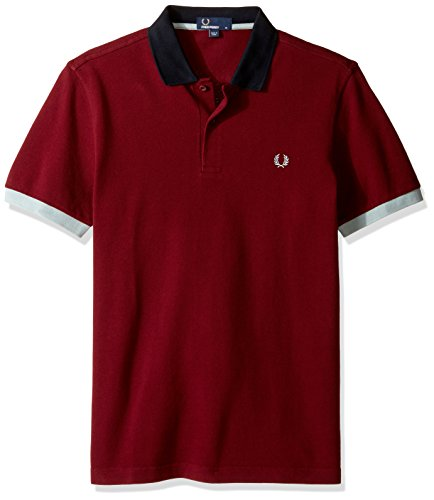 Fred Perry Colour Block Pique Shirt, Polo