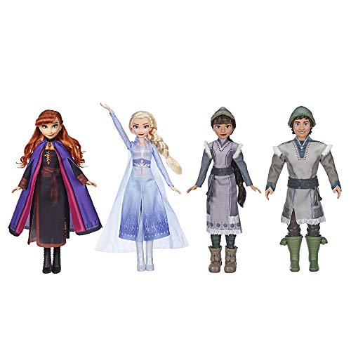 Frozen 2 Forest Playset with Anna, Elsa, Ryder & Honeymaren
