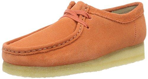 Clarks 261227434, Scarpe Derby Donna Arancione (Light Coral)