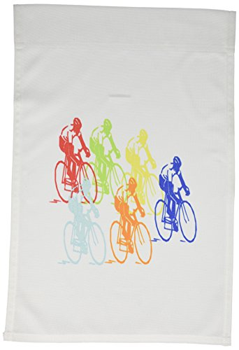 Cheap 3dRose fl_109036_1 Multi Color Bicycle Race Garden Flag, 12 by 18-Inch
