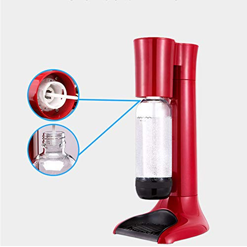 Drink Soda Maker Bubble Water Maker Soda Water Maker, Iphon CO2 Carbonator Bottle DIY Bubble for Home and Tea Shop