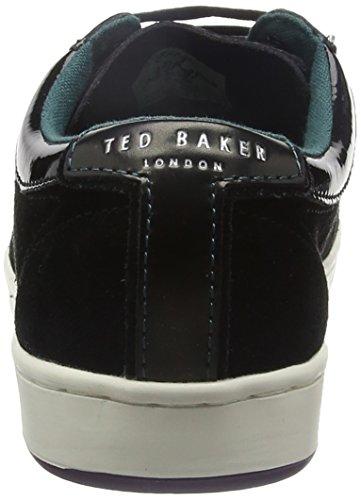 Ted Baker Yocob, Zapatillas de Estar por Casa para Hombre Black (Black)