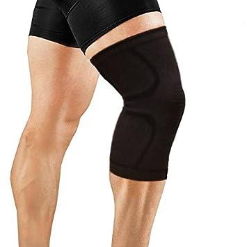 OrthoCare S.Fitness - Rodillera Soporte y compresión para vida diaria y deporte. Perfecta