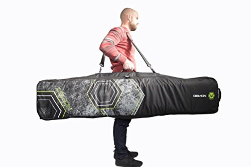 Demon Phantom Fully Padded Travel Snowboard Bag with WHEELS