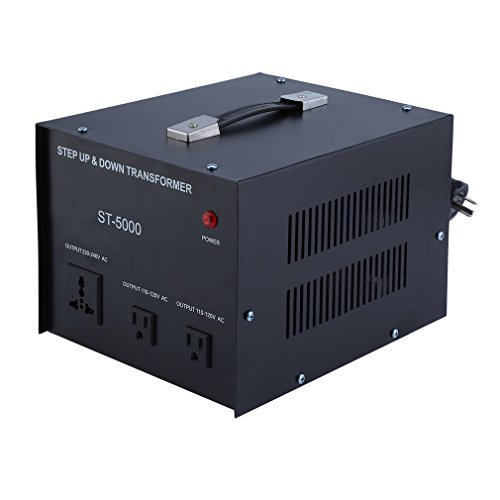 Homgrace 5000 W Voltage Converter Transformer, Heavy Duty Step Up and Down 110-220V (ST-5000 W) by Homgrace (Image #6)
