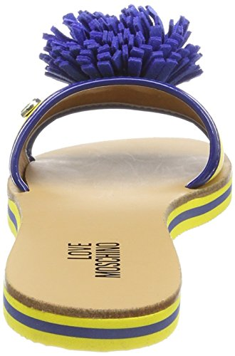 Women's Mule Yellow Blue JA28012G15ID140A Moschino Love UPw4g