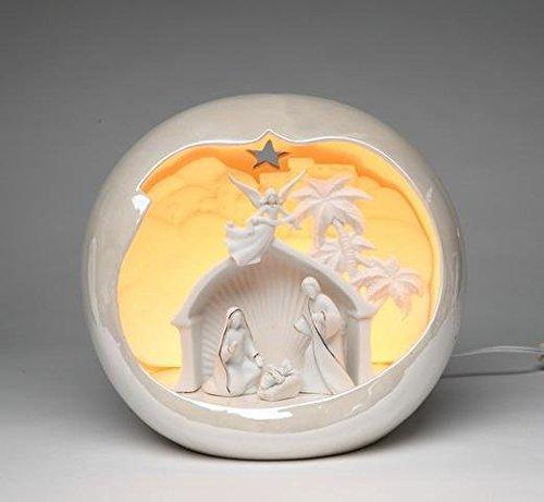 ATD 61271 10'' Holy Family Nativity Scene Night Light by ATD