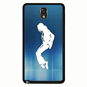 Durable Hard Plastic Cover Classical Unique Michael Jackson Phone Case for Samsung Galaxy Note 3