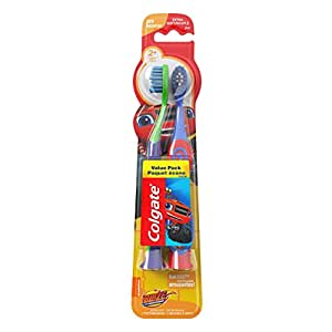 Colgate Kids Soft Toothbrush with Suction Cup, Blaze Value Pack (2 Count)