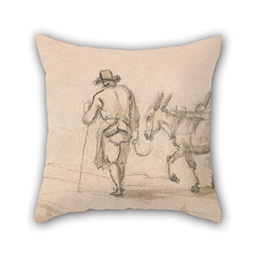 the-oil-painting-paul-sandby-two-wheeled-cart-and-figures-throw-pillow-covers-of-16-x-16-inches-40-b