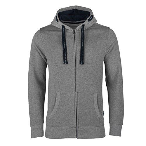 Hrm À nbsp;capuche Grau 9 Sweat grey Homme Jacket Melange M txgaxf